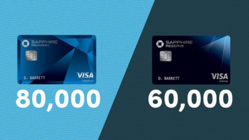Updated Bonuses on the Chase Sapphire Preferred Card and Chase Sapphire Reserve