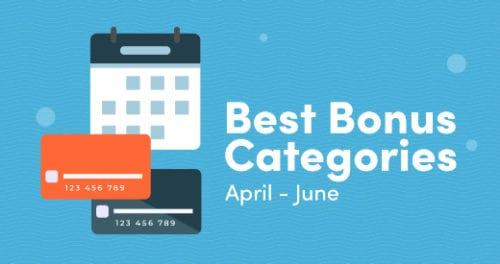 Best Bonus Categories April Through June 2021