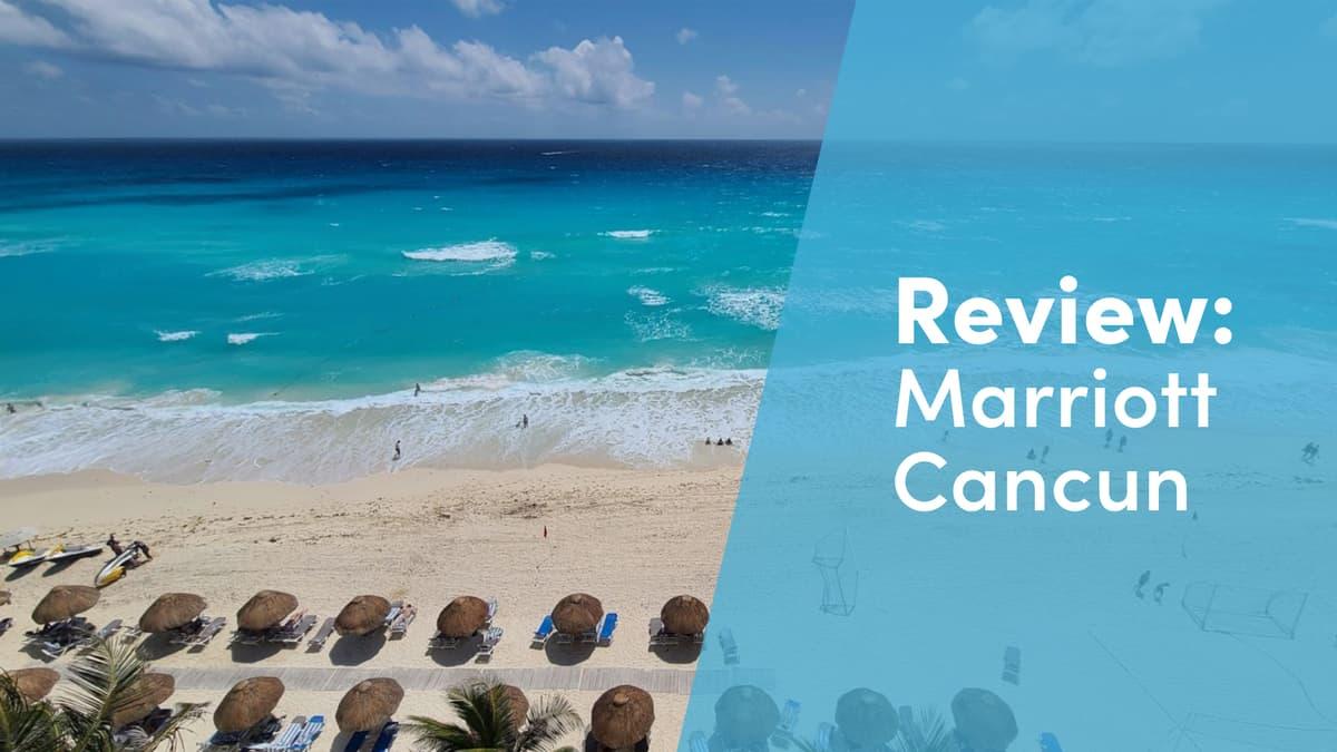 marriot cancun resort