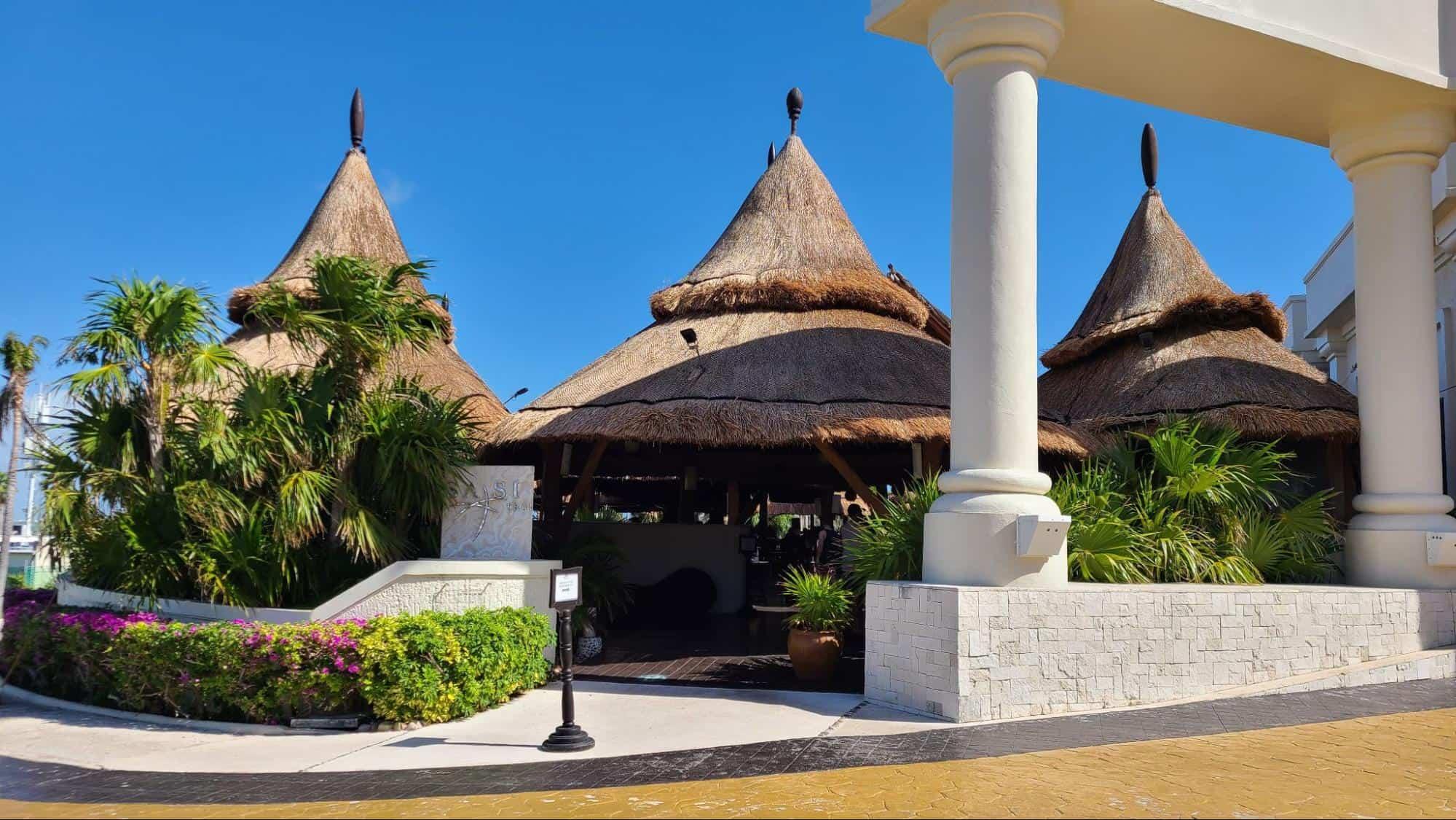 Sasi Thai restaurant Marriott Cancun Resort