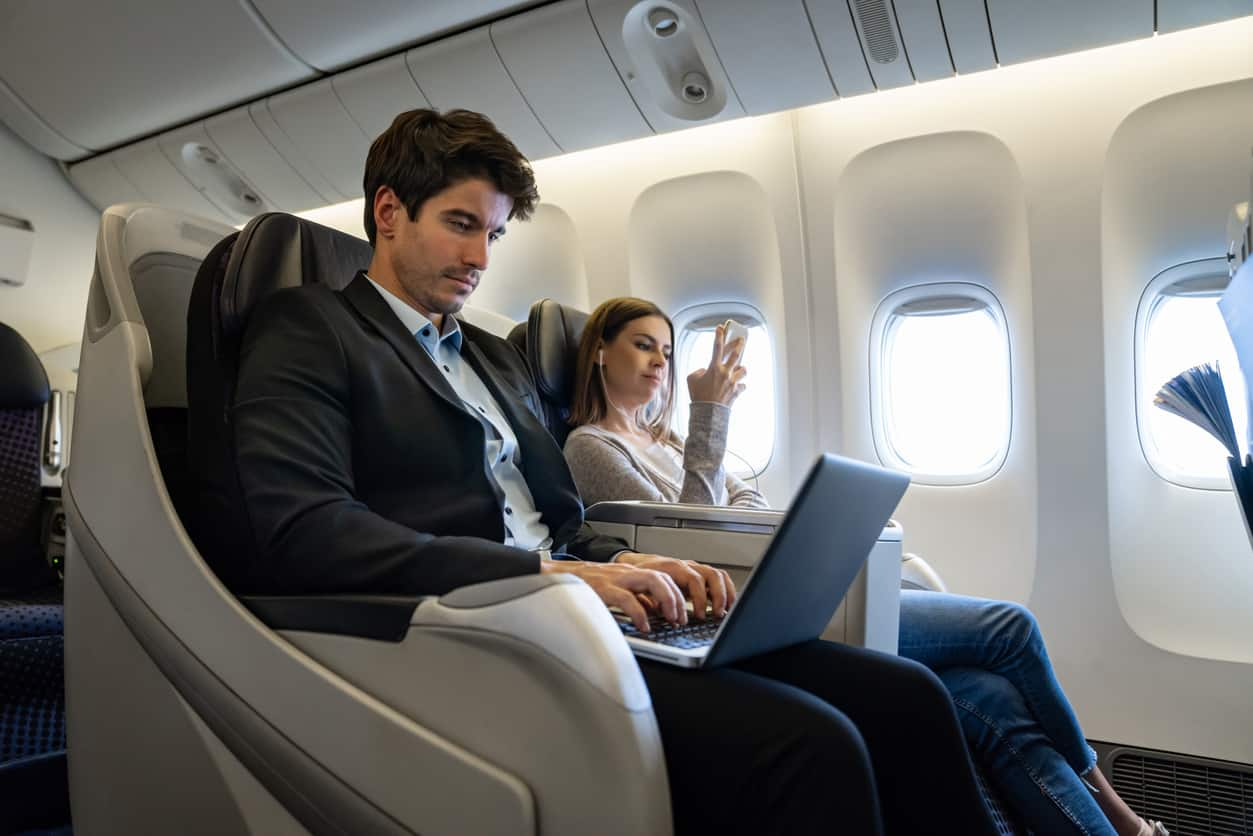 ultimate rewards for business and first class flights