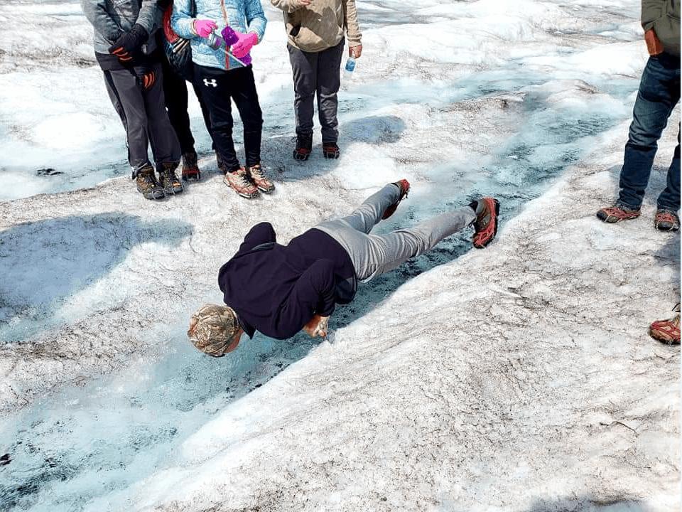 Athabasca Glacier Stream drink