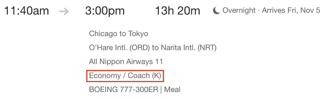 Flights Fare Basis Code