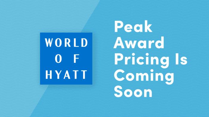 hyatt peak award pricing