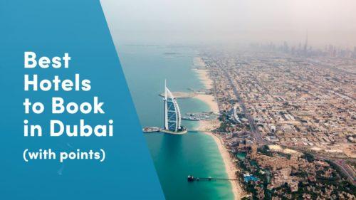 Dubai hotels using points