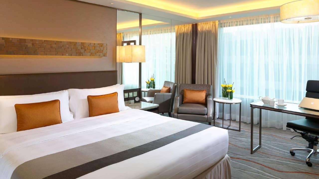 InterContinental Grand Stanford Hong Kong room view