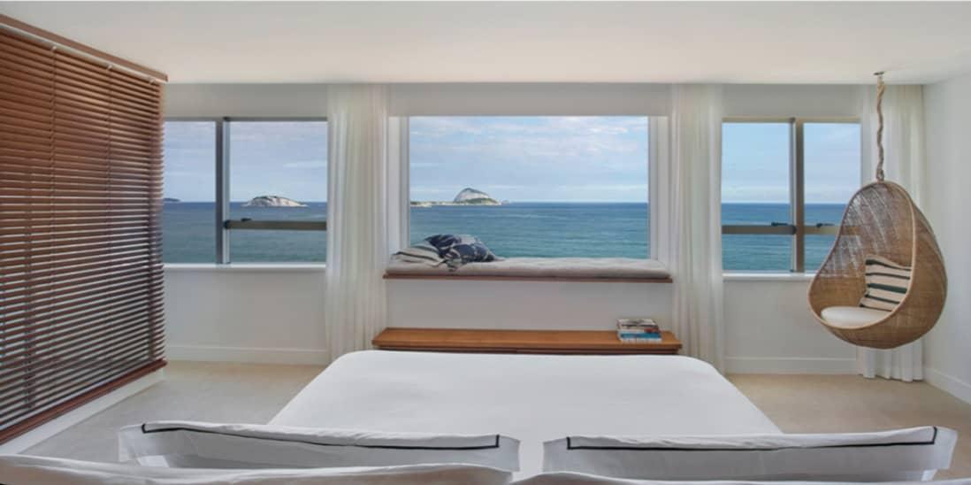 JANEIRO Hotel room view