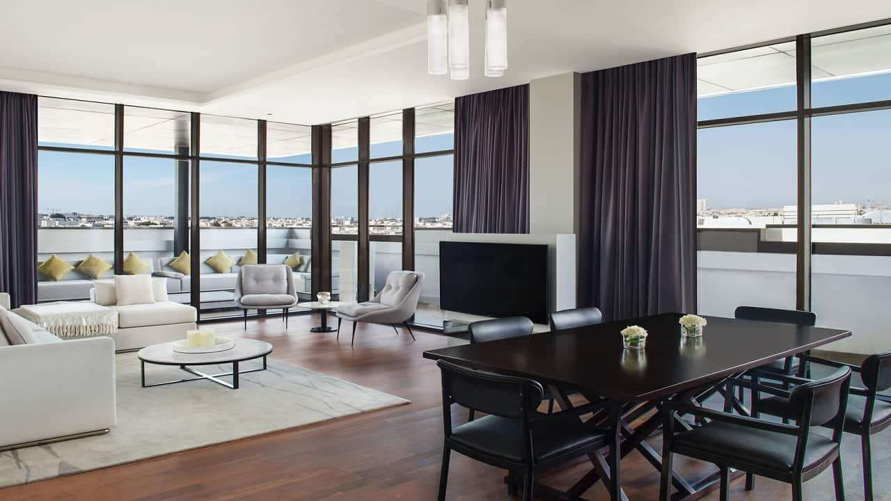 La Ville Suite Living Area