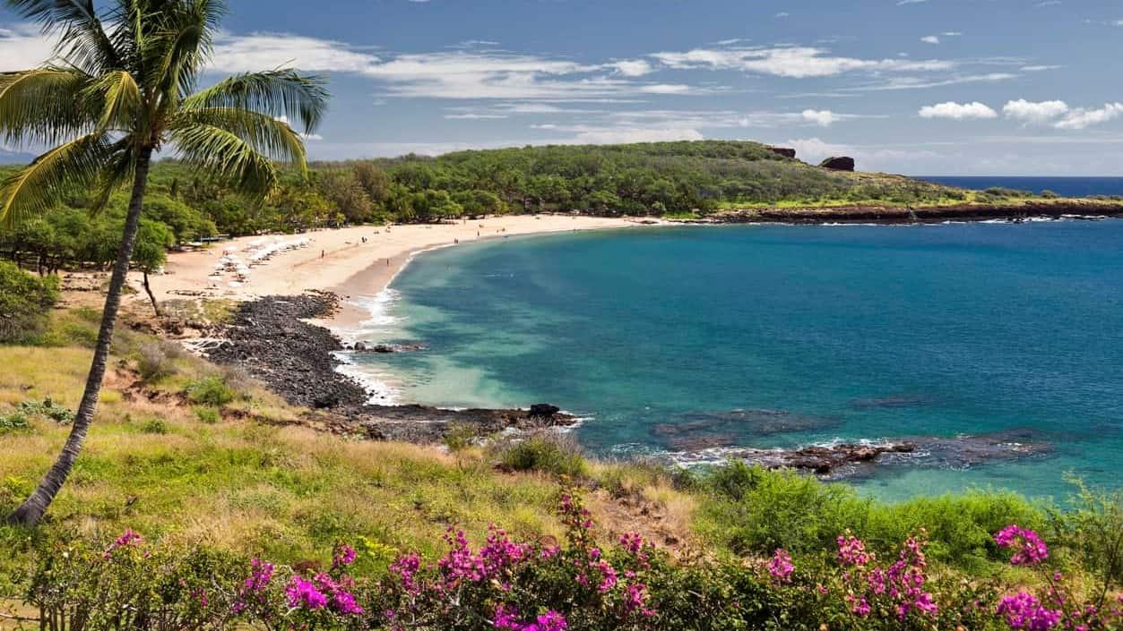 Manele Bay on the Island of Lanai in Hawaii