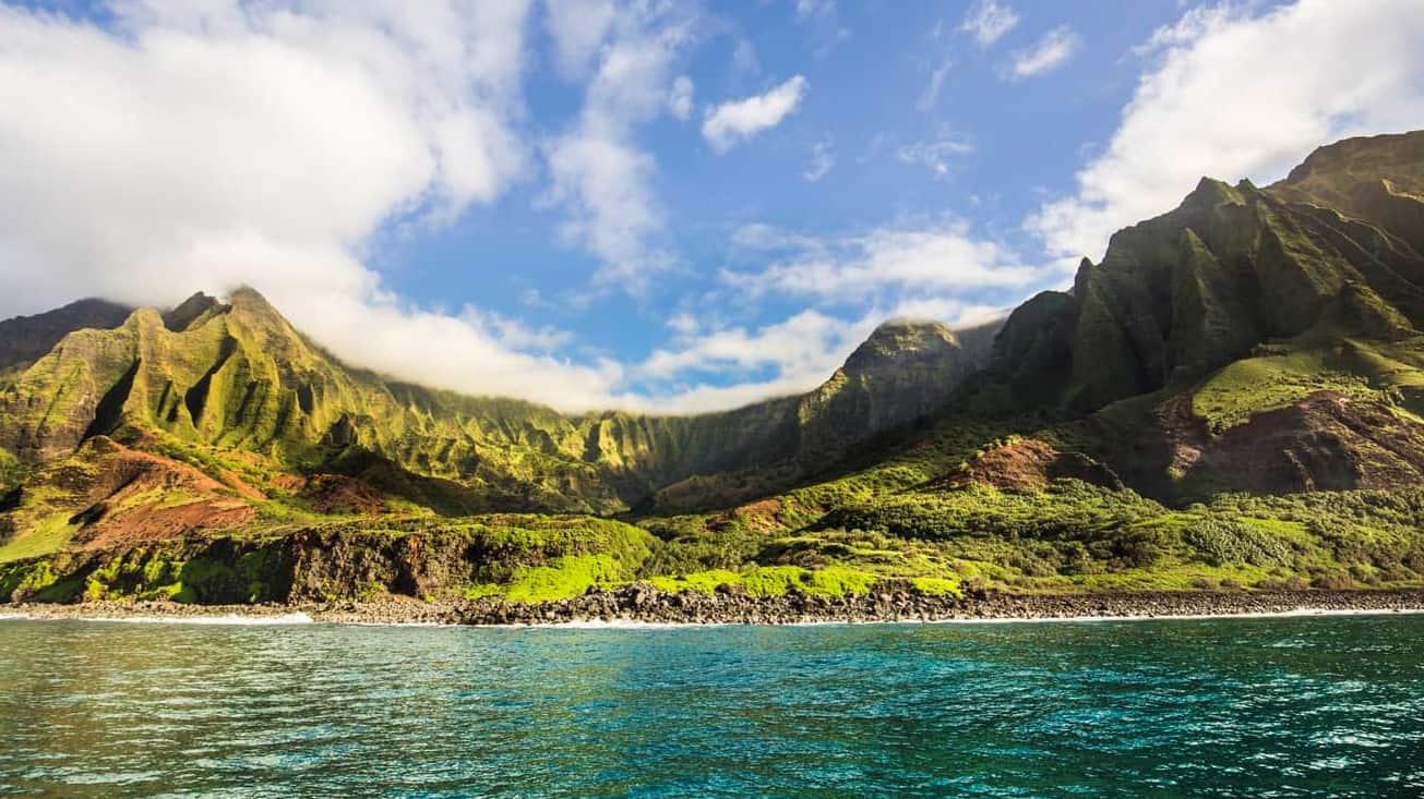 Na Pali Coast of Kauai, Hawaii