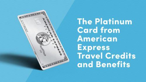 amex platinum benefits and credits