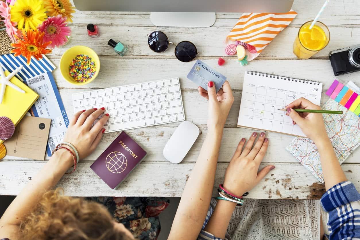 travel hacking - buying plane ticket using points