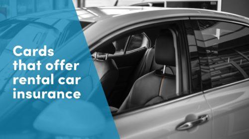 Credit Card Car Rental Insurance
