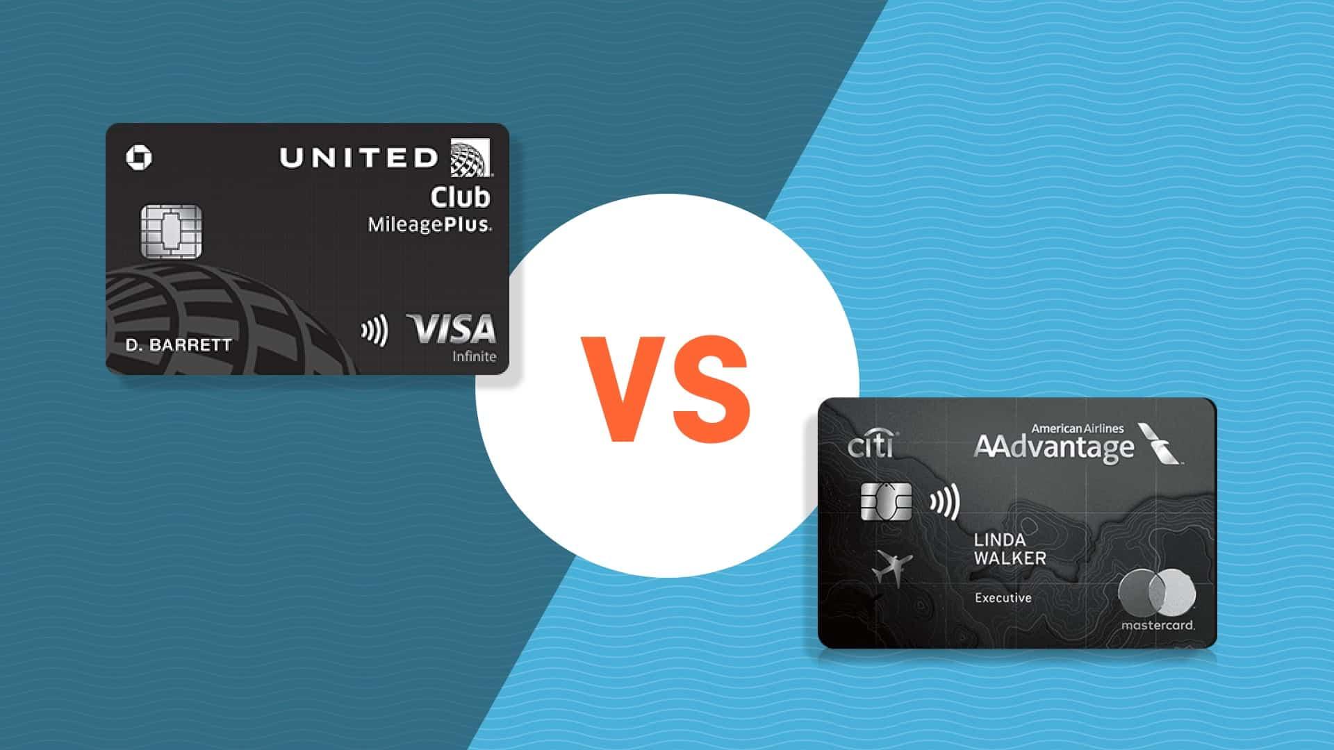 Chase United Club℠ Infinite Card vs Citi AAdvantage Executive World Elite Mastercard
