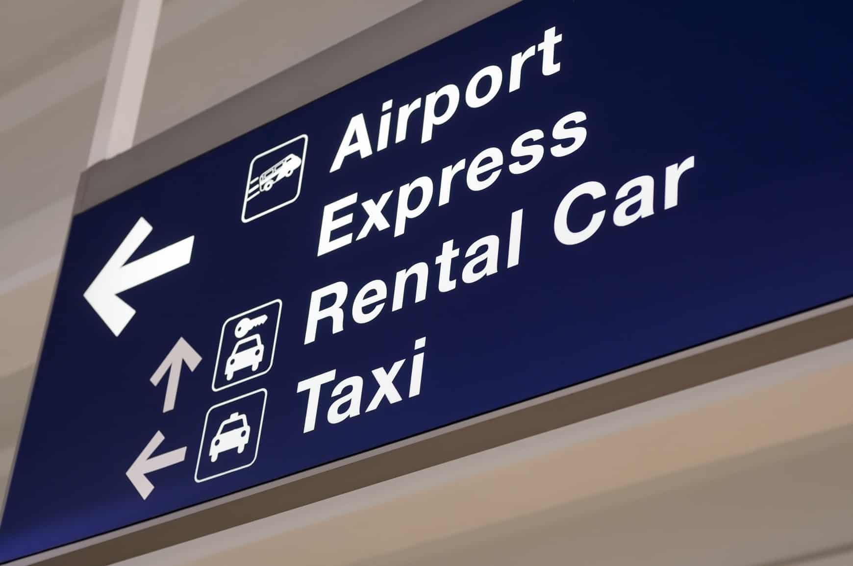 rental cars at airport
